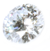 Prices of Sparkling white oval cut diamond made from human hair
