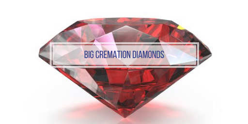 big diamonds from cremated ashes