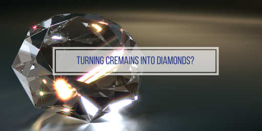 diamond made from cremated remains