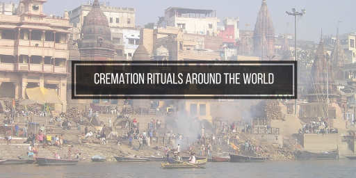 india's ganges where people are holding cremation rituals