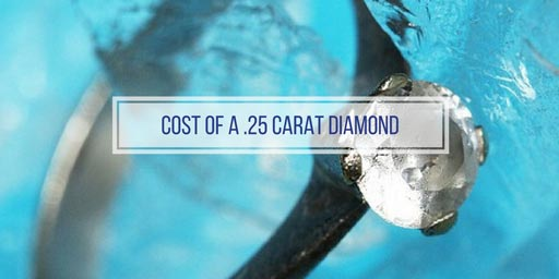 diamond photo with the text 'how much does a 25 carat cost'
