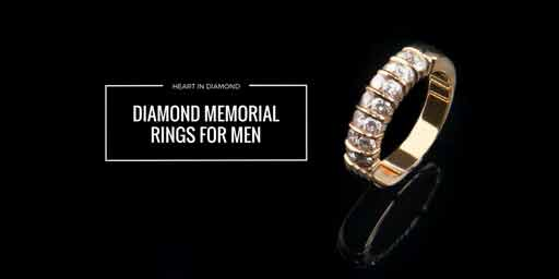 Cremation jewelry for men