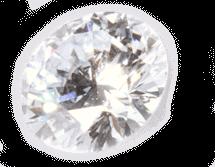 Memorial Diamonds - Heart In Diamond